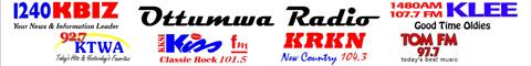 Ottumwa Radio KKSI/KRKN/KBIZ/KTWA/KLEE/KOTM