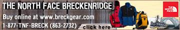 THE NORTH  FACE STORE AT BRECKENRIDGE
