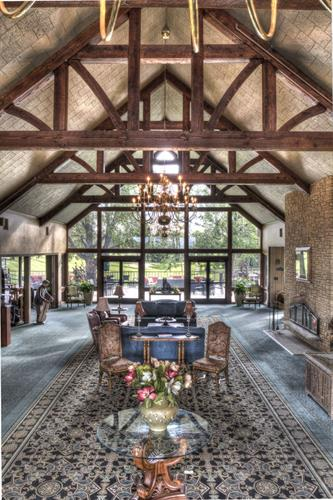Lobby of Madden Inn & Golf Club