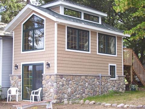 Gull Lake Boathouse