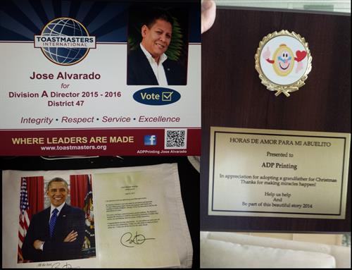 jose oboma & certificate
