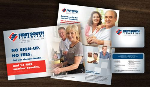 First South Financial Platinum Member Mailer