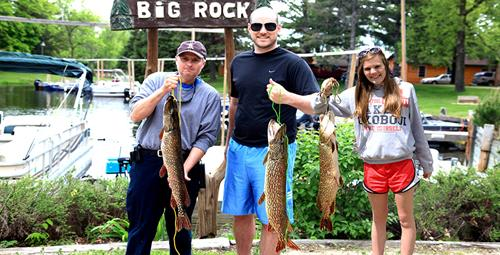 Leech Lake is home to many fish species - great family fishing!