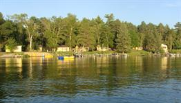 Bayside resort campgrounds leech lake resorts leech for Leech lake fishing resorts