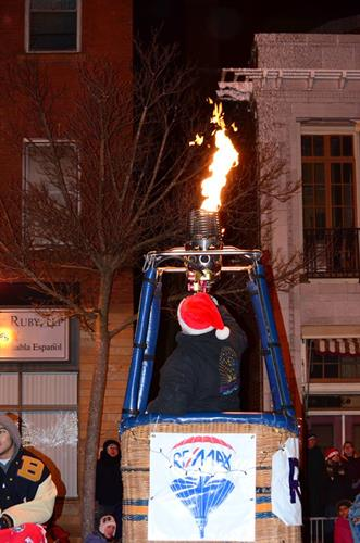 Don't miss the Lights Parade, downtown Baraboo every November!