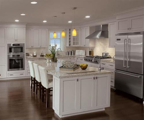 More than just flooring...we offer kitchen & bath cabinetry as well!