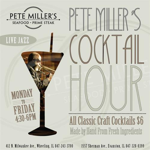 Cocktail Hour Monday-Friday 4:30-6:00pm