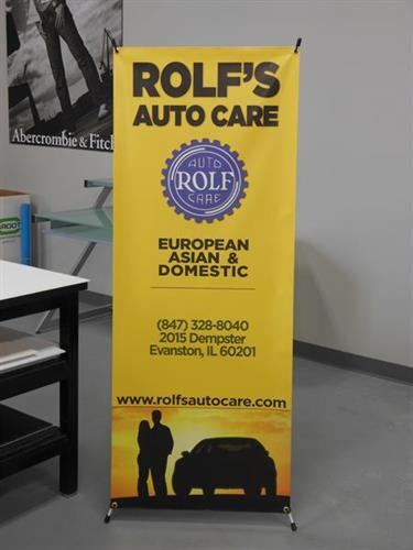 Rolf's Auto Care Banner