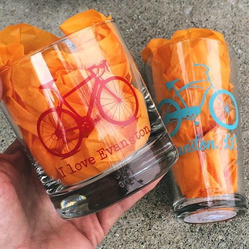 Pint, Rocks & Wine glasses, made in Denver