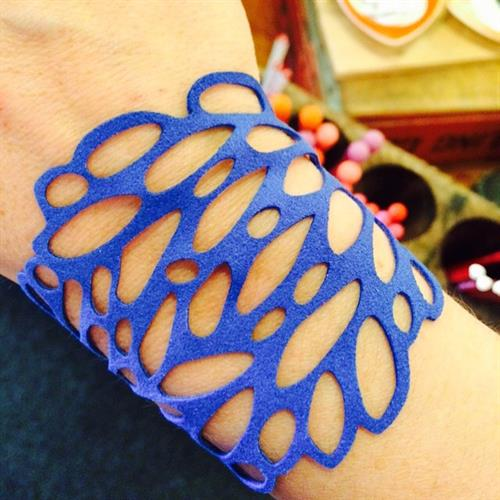 Ultrasuede bracelet, made in Portland