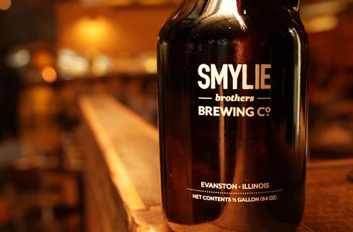 Craft beer brewed on premise - and growlers to go!