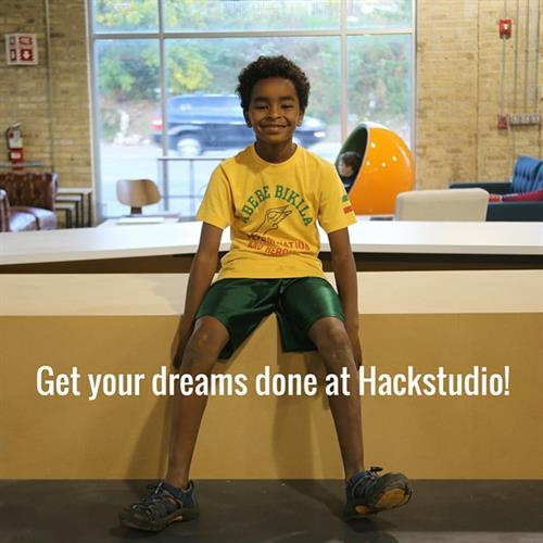 Pursue your interests and get them done at Hackstudio!