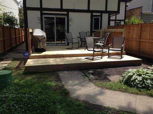 Deck repais and conditioning