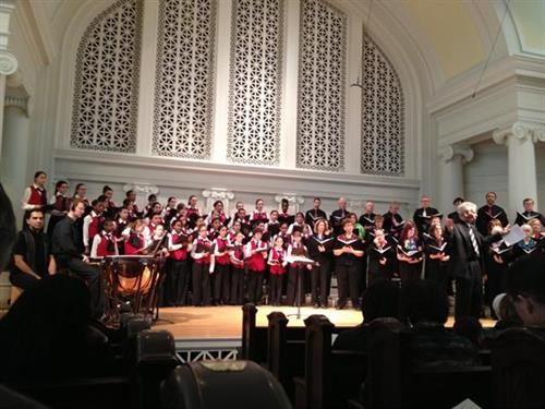 MIC Chorale with Chicago Children's Choir 2013