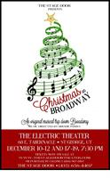 Christmas On Broadway Poster