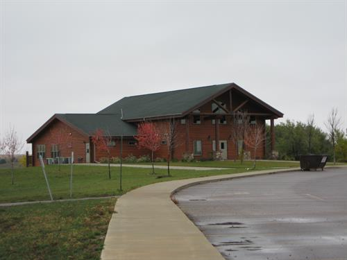 The Archbishop Carlson Lodge at the Youth & Family Camp