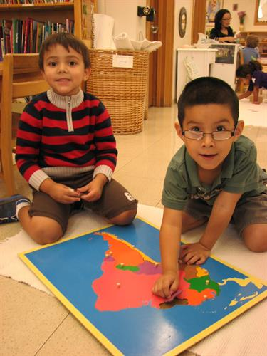 Primary Classroom Geography