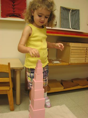 Primary Classroom Pink Tower