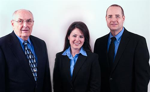 Local Attorneys of Law specializing in Estate Planning, Estate administration, Real Estate and Business transactions.  (Left to Right) Andrew Semmelman, Kimberly Wisneski & David Semmelman of Semmelman & Semmelman Ltd.