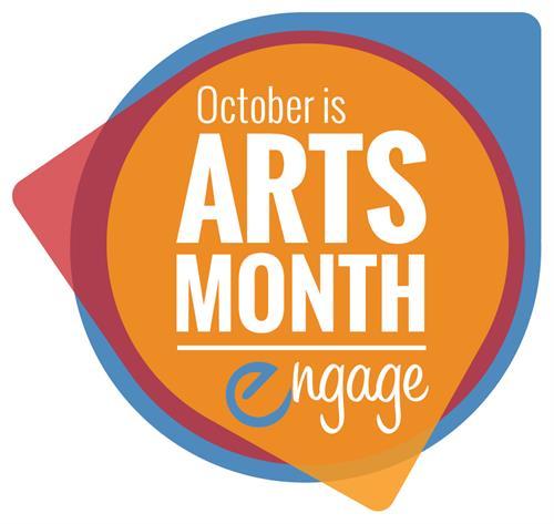 Arts Month Logo