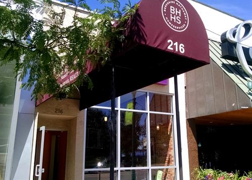 Berkshire Hathaway Home Services Rocky Mountain Realtors office in Downtown Colorado Springs