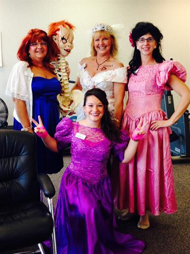 halloween group fun Advance PT services