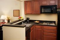 Our All Suite Hotel each suite comes wilth a fully equipped kitchen.