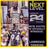 Lawrence Timmons Loves Herbalife 24