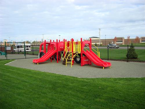 We offer 4 unique, outdoor play areas.  Designed especially for children.