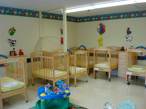 We care for Infants starting at just 6 weeks of age.