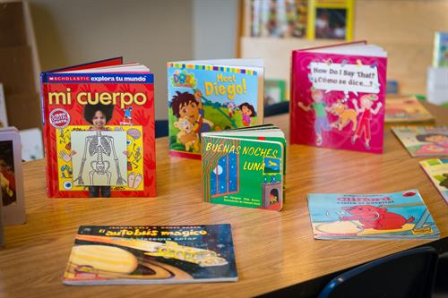 We offer both Spanish and Chinese language programs.