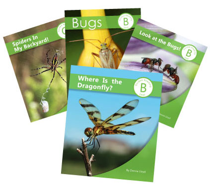 Set of 4 Bug Books