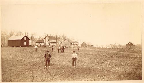 The historic Andrew Peterson farm