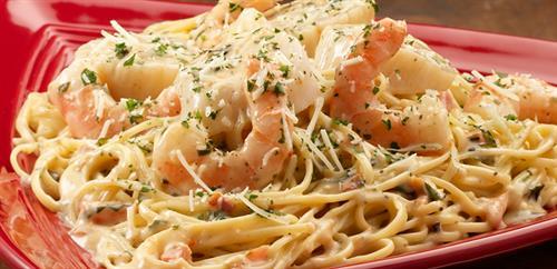 Tuscan Seafood Pasta