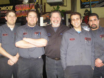 Bill and staff celebrated 50 years in business in 2010
