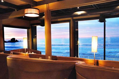 One of many views from the Moonraker Restaurant. Live music Friday & Saturday and a happy hour from 4pm to 6pm