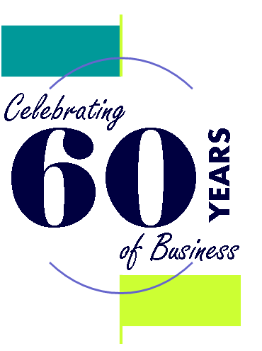 In 2014, we celebrated 60 years in business!