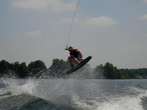 Catchin' air on our Lakes!