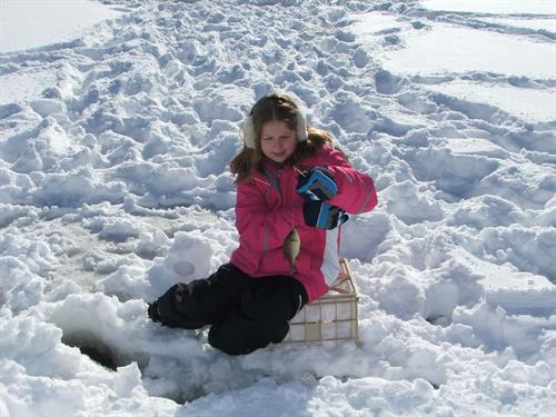 Great ice fishing on our Lakes!