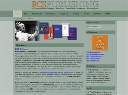 ECS Publishing - Boston