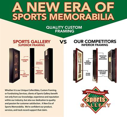 The Sports Gallery Framing Difference