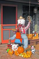Our Rooster & Scarecrow won Fallfest Contest - Fall 2012!