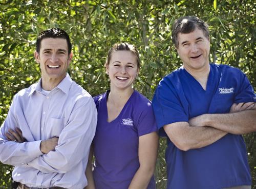 Dr Buzz Walton, Abbey Barnhart, PA-C, Dr Phillip Steele