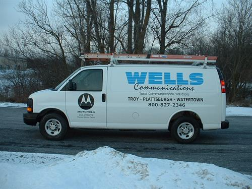 Wells Service Vehicle