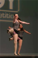 dancers at competition 2012