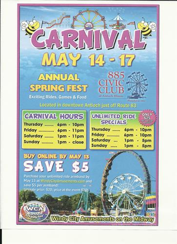 The 885 Civic Club Spring Fest Carnival 2015