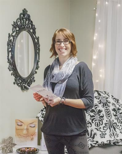 Raegan Dusek, Owner of RED's Skincare