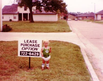 Evan Matteson in the early 80's in Rockwall...did not know real estate would be his destiny