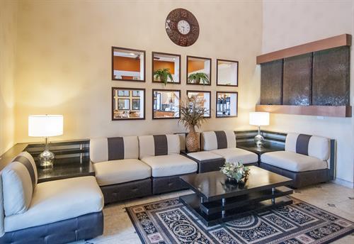 Cozy Lobby area