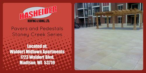 Pavers and Pedestals